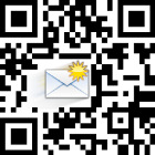 QR to send email.